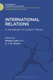 International Relations : A Handbook of Current Theory, Hardback Book