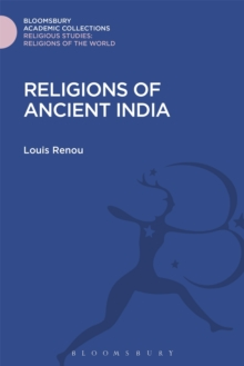 Religions of Ancient India, Hardback Book