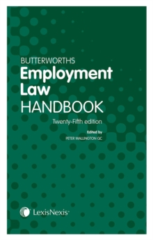 Butterworths Employment Law Handbook, Paperback Book