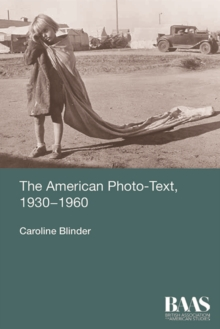 The American Photo-Text, 1930-1960, Paperback / softback Book