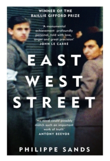 East West Street : Non-fiction Book of the Year 2017, Paperback / softback Book