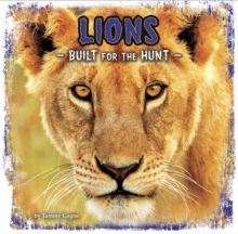 Lions : Built for the Hunt, Hardback Book