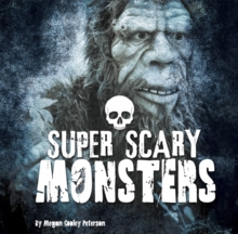 Super Scary Monsters, Paperback Book