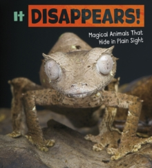 It Disappears! : Magical Animals That Hide in Plain Sight, Hardback Book