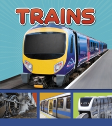 Trains, Hardback Book