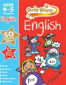 Gold Stars English Ages 4-5 Reception,  Book