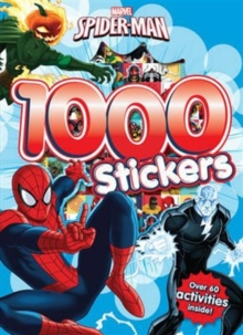 Marvel Spider-Man 1000 Stickers : Over 60 activities inside!, Paperback Book