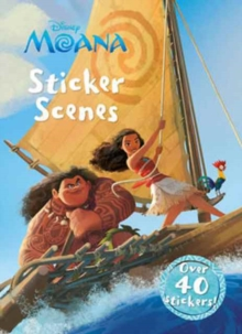 Disney Moana Sticker Scenes : Over 40 Stickers!, Paperback Book