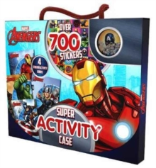 Marvel Avengers Super Activity Case : Over 700 Stickers, Mixed media product Book