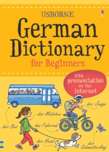 German Dictionary for Beginners, Paperback Book