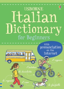 Italian Dictionary for Beginners, Paperback Book