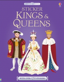 Sticker Dressing Kings & Queens, Paperback / softback Book