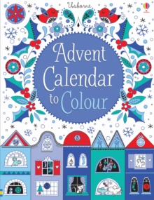 Advent Calendar to Colour, Hardback Book