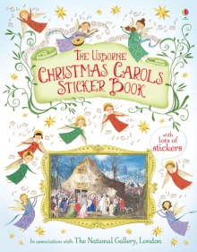 Christmas Carols Sticker Book, Paperback Book