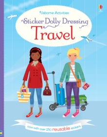 Sticker Dolly Dressing Travel, Paperback Book