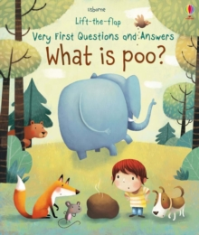 Lift-The-Flap Very First Questions & Answers : What is Poo?, Board book Book