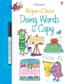 Wipe-Clean Doing Words to Copy, Paperback / softback Book