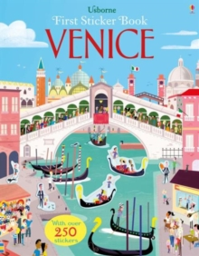 First Sticker Book Venice, Paperback Book