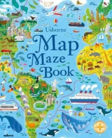 Map Mazes, Paperback Book