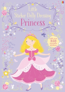 Little Sticker Dolly Dressing Princess, Paperback Book