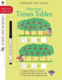 Wipe-Clean Times Tables 5-6, Paperback / softback Book