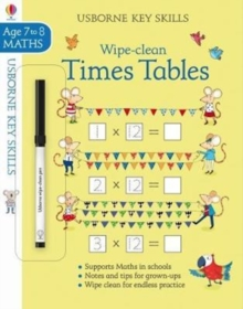 Wipe-Clean Times Tables 7-8, Paperback / softback Book