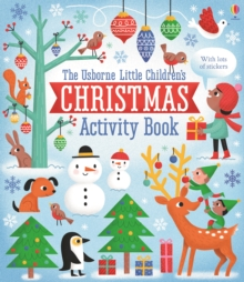 Little Children's Christmas Activity Book, Paperback Book