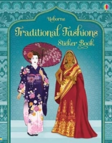 Traditional Fashions Sticker Book, Paperback Book