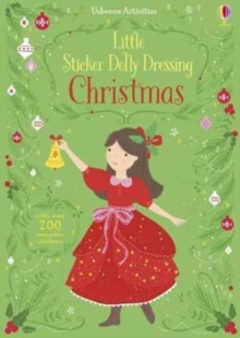 Little Sticker Dolly Dressing Christmas, Paperback Book