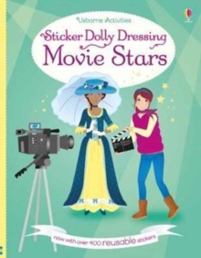 Sticker Dolly Dressing Movie Stars, Paperback Book