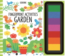 Fingerprint Activities Garden, Spiral bound Book