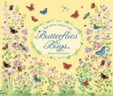 Rub-Down Transfer Book Butterflies and Bugs, Hardback Book