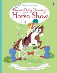 Sticker Dolly Dressing Horse Show, Paperback Book
