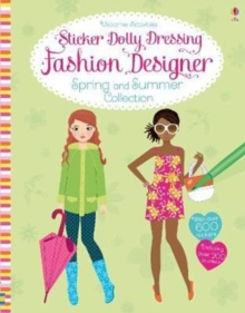 Sticker Dolly Dressing Fashion Designer Spring and Summer Collection, Paperback / softback Book
