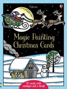 Magic Painting Christmas Cards, Paperback / softback Book
