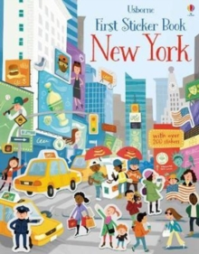 First Sticker Book New York, Paperback Book