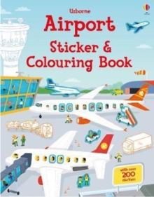 Airport Sticker and Colouring Book, Paperback / softback Book