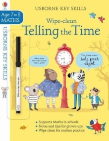 Wipe-clean Telling the Time 7-8, Paperback / softback Book