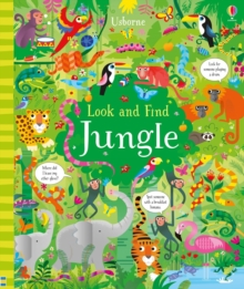 Look and Find Jungle, Hardback Book