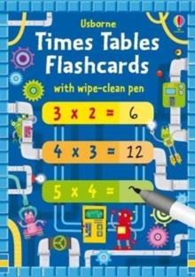 Times Tables Flash Cards, Paperback Book