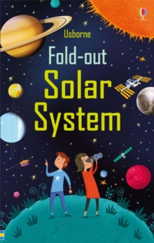 Fold-Out Solar System, Board book Book