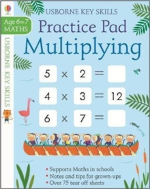Multiplying Practice Pad 6-7, Paperback Book