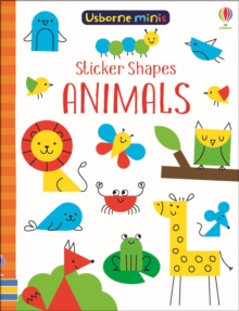 Sticker Shapes Animals, Paperback / softback Book
