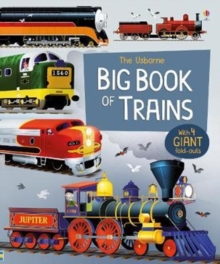 Big Book of Trains, Hardback Book