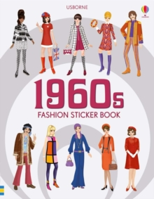 1960s Fashion Sticker Book, Paperback / softback Book