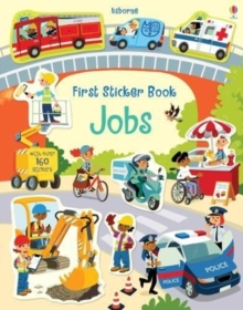 First Sticker Book Jobs, Paperback Book
