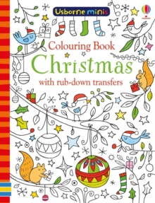 Colouring Book Christmas with Rub-Down Transfers, Paperback / softback Book