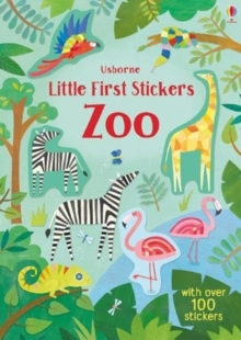 Little First Stickers Zoo, Paperback Book