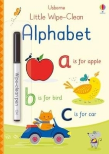 Little Wipe-Clean Alphabet, Paperback / softback Book