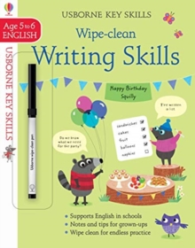 Wipe-Clean Writing Skills 5-6, Paperback / softback Book